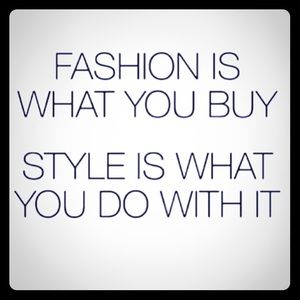 Know the fashion rules then BREAK THEM for STYLE!